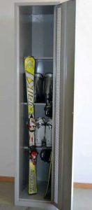 Skischrank für 2 Paar Ski